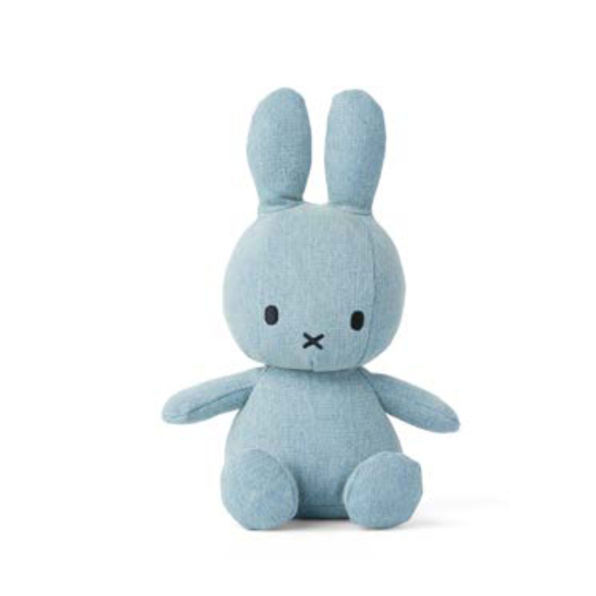 Miffy Denim Plush 23cm , Light Wash