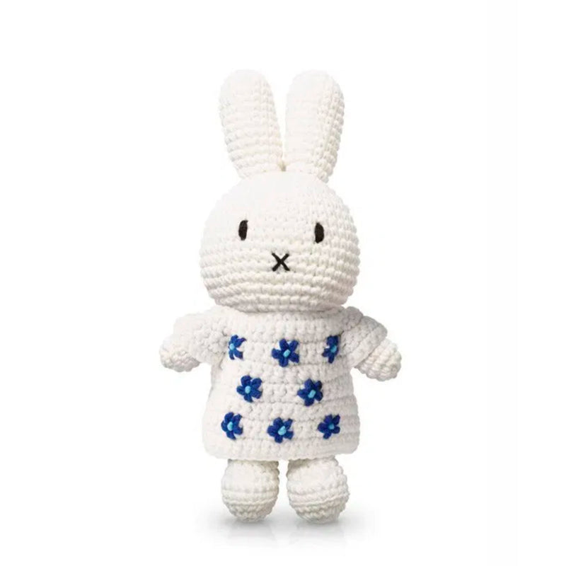 Just Dutch handmade doll, Miffy and her delfts blue dress