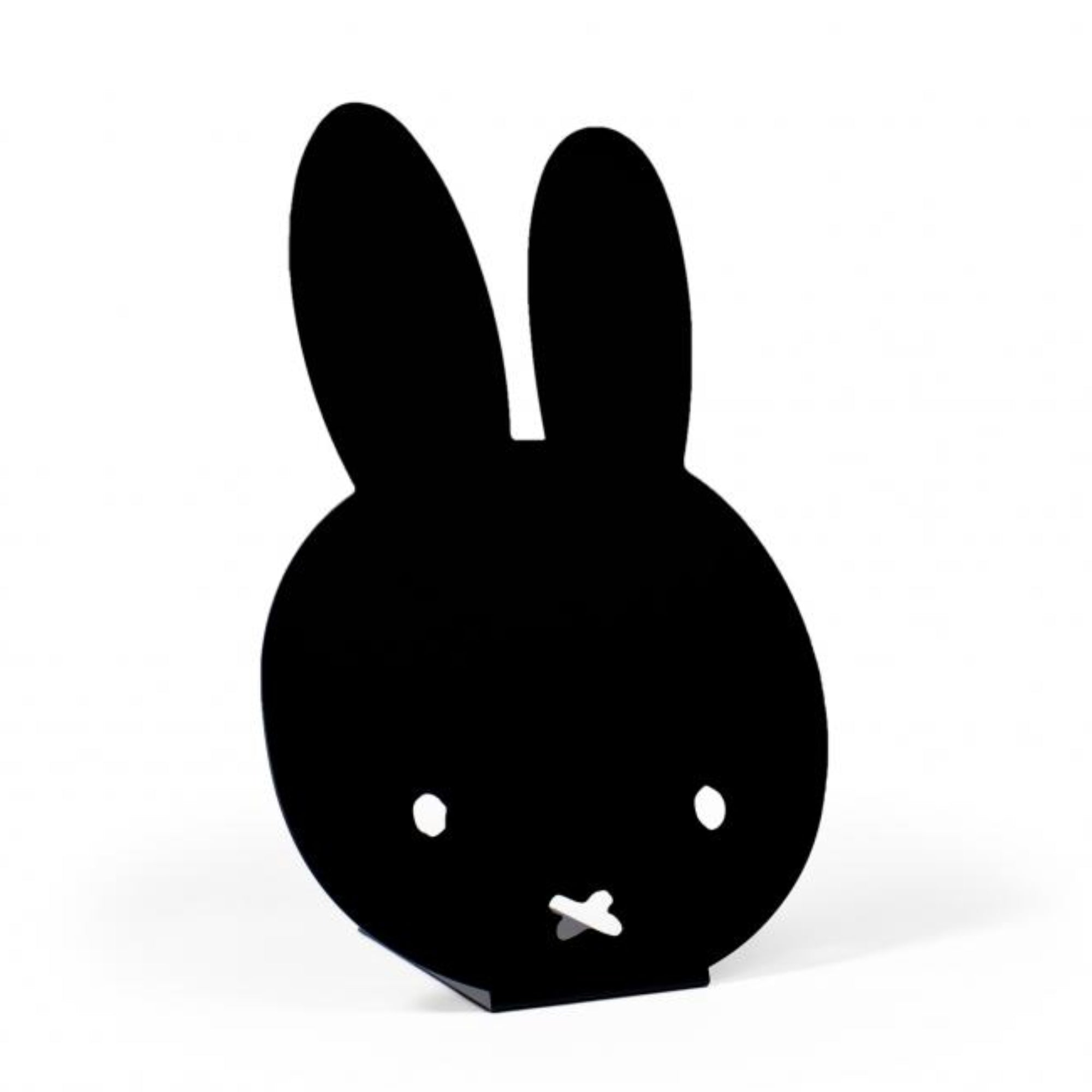 Miffy desk standing magnet board, black