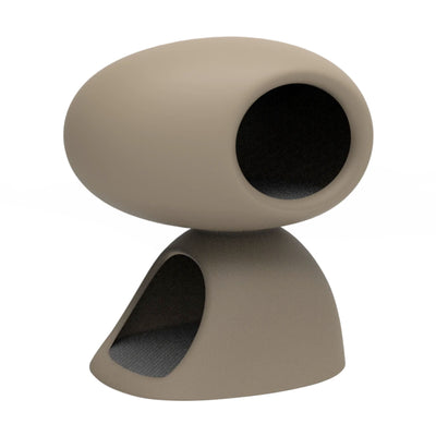 Qeeboo Cat Cave , Dove Grey