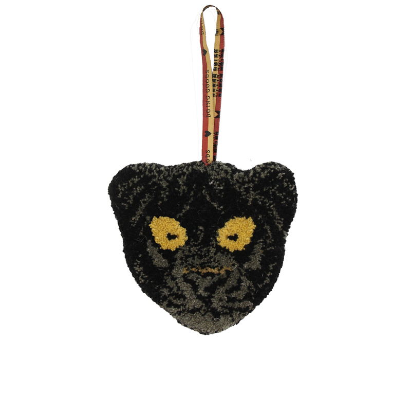 Doing Goods Black Panther Hanger 17x18cm
