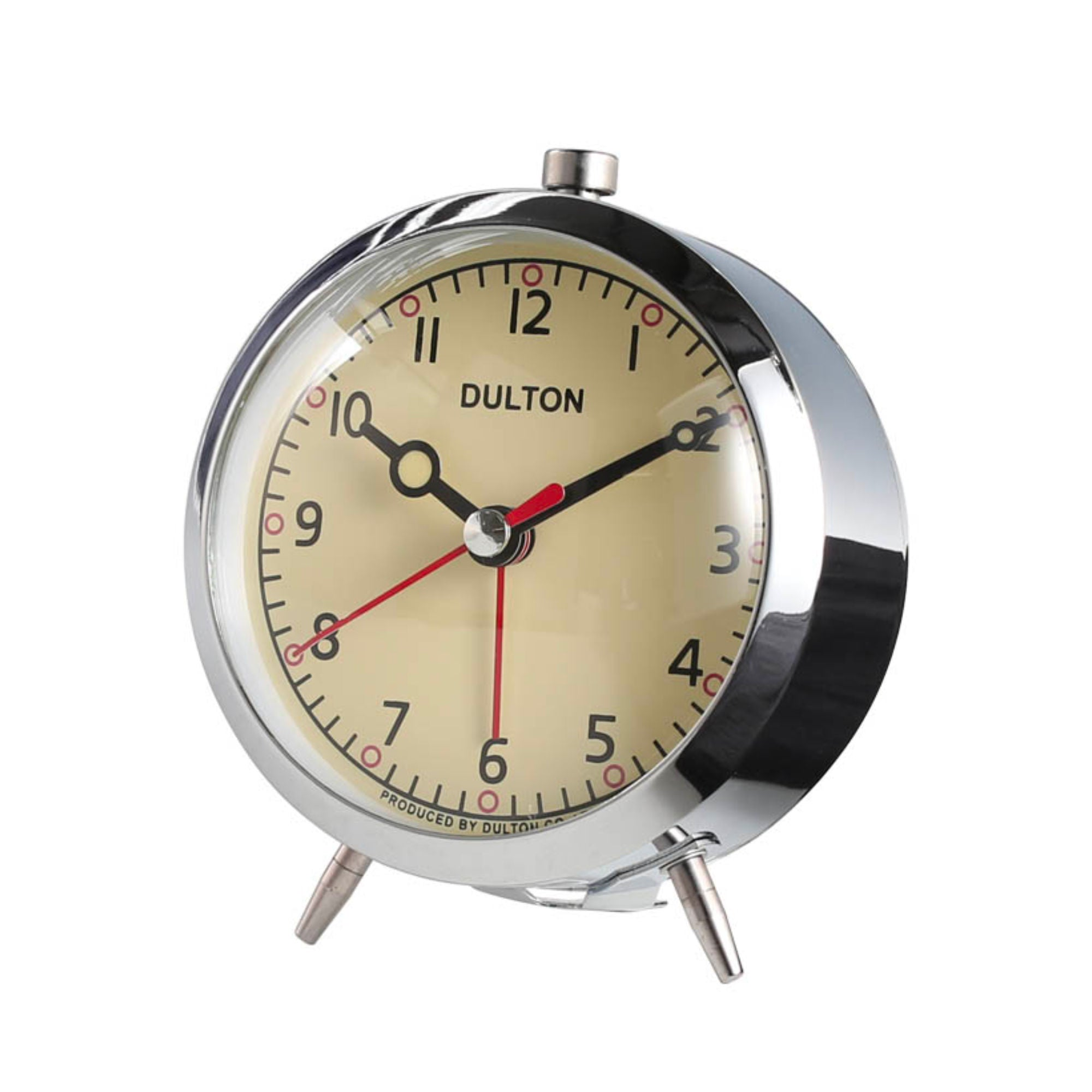 Dulton Alarm Clock , Chrome