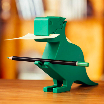 Kikkerland Dino Memo Holder