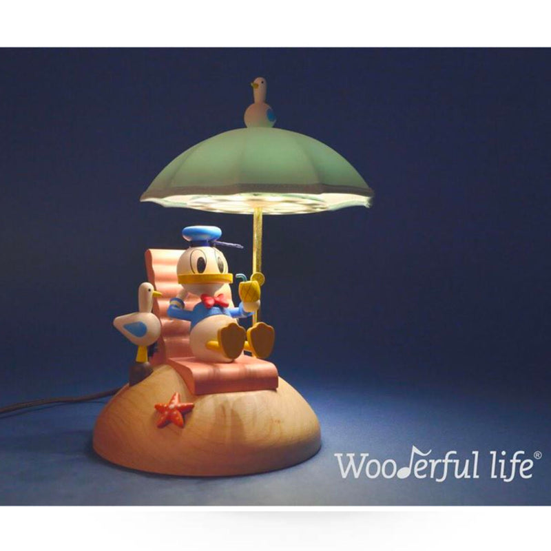 Wooderful Life wooden lamp , Donald
