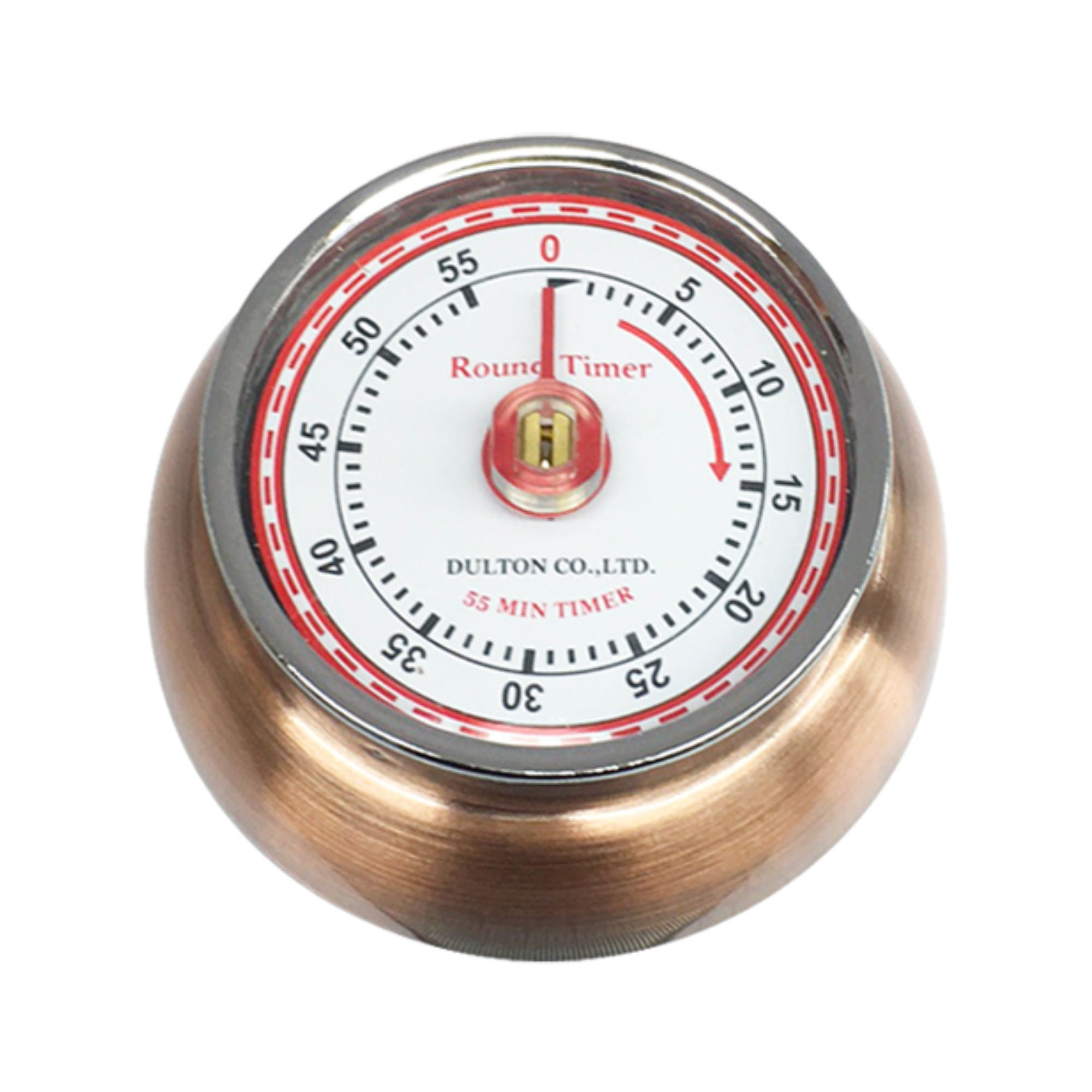 Dulton Kitchen Timer, antique copper