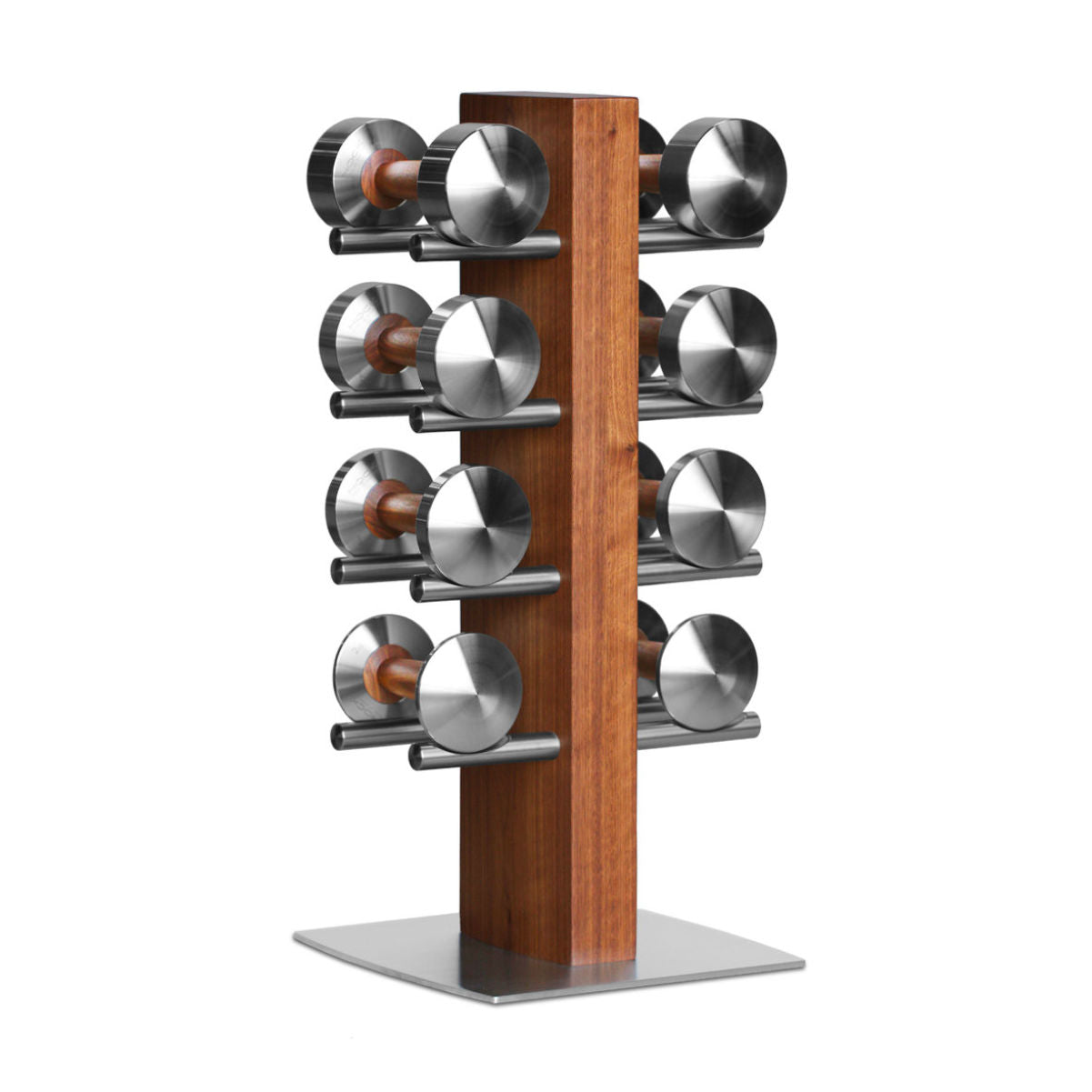 HOCK Design DISKUS SUPERTOWER luxury dumbells set, 2-8kg