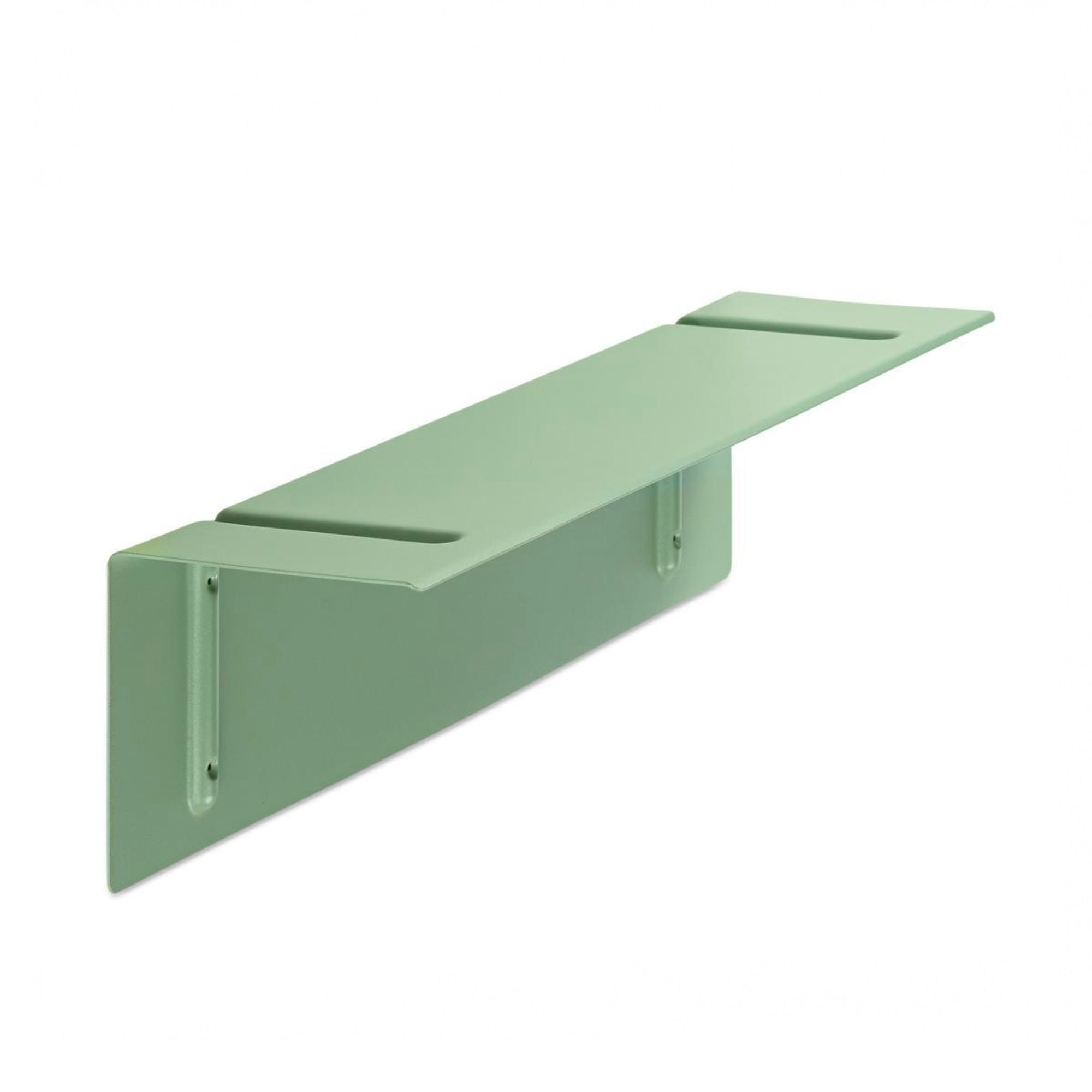 Hay Brackets Incl. Wall Shelf L80 , Dusty Green