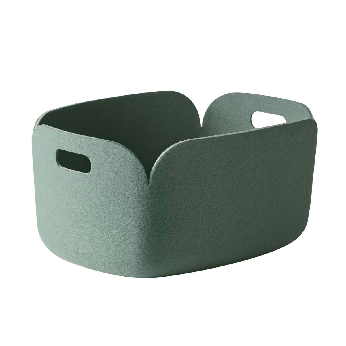 Muuto Restore Basket, dusty green