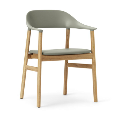 Normann Copenhagen Herit armchair, oak, leather