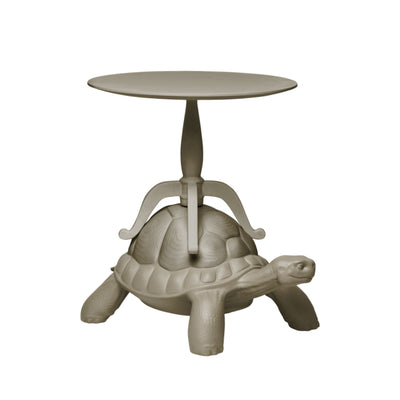 Qeeboo Turtle Carry Coffee Table , Dove Grey