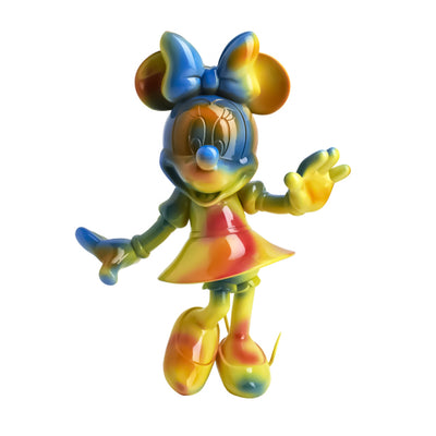 Minnie Welcome Tie & Dye 30cm