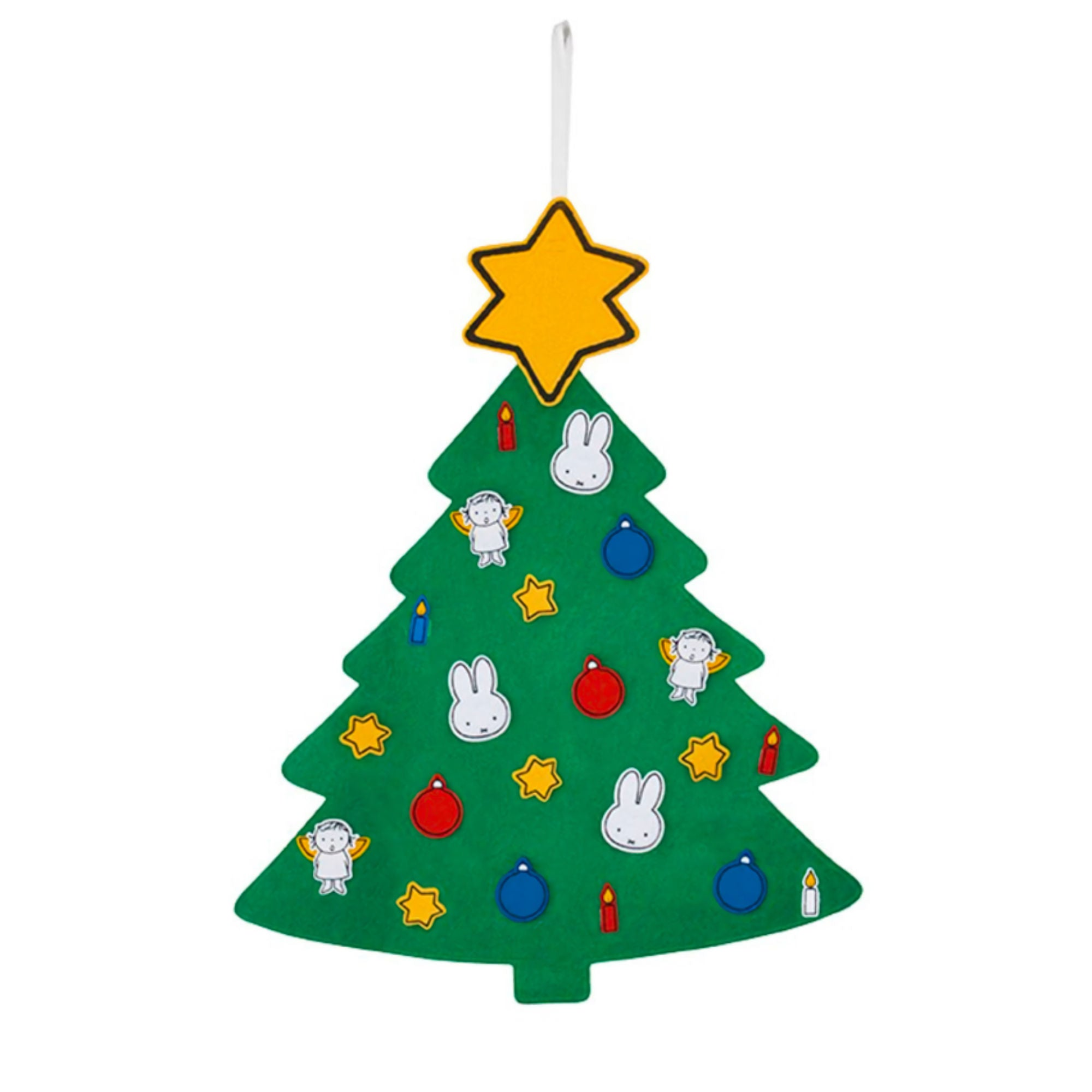 Miffy Felt Christmas Tree