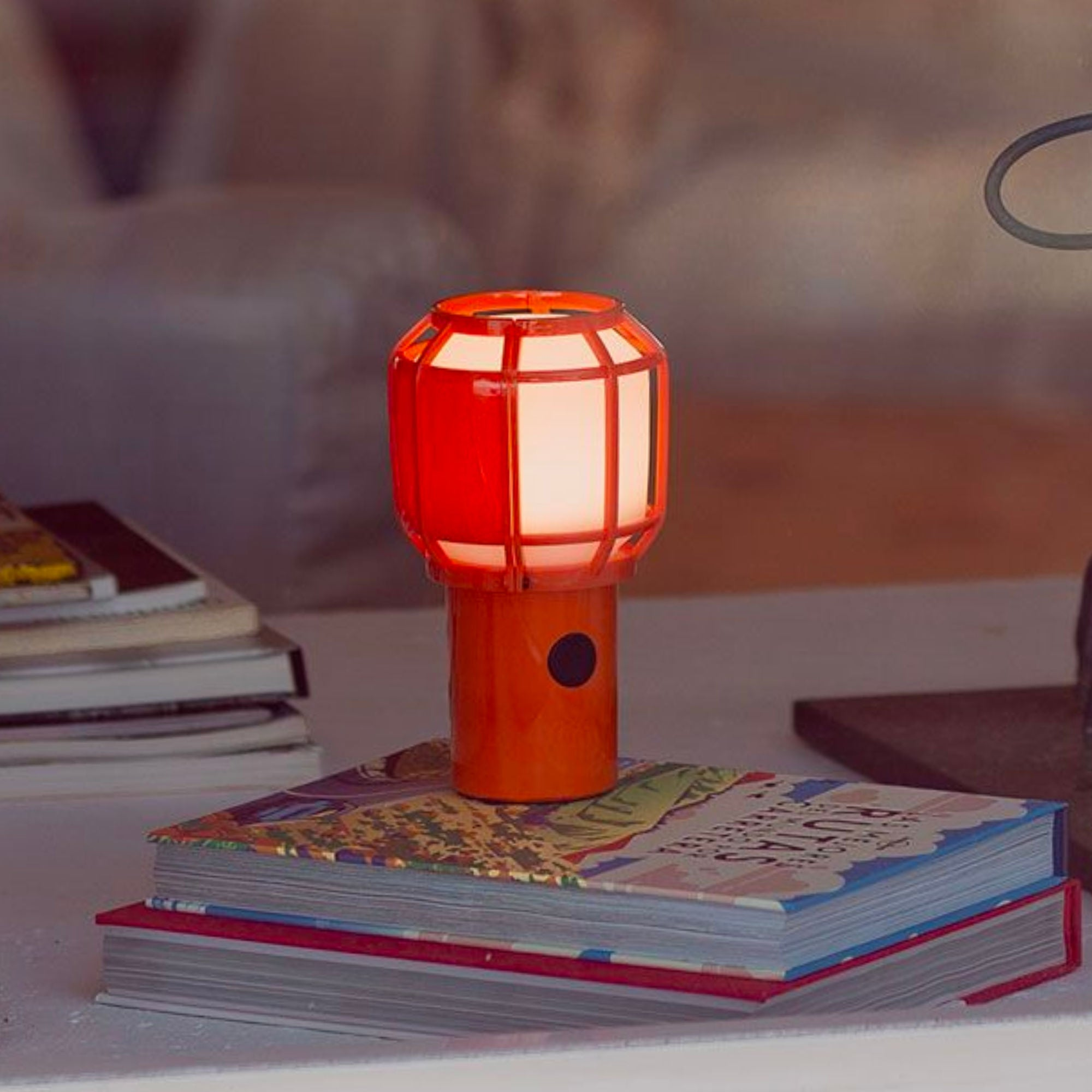 Marset Chispa Portable Led Lamp , Orange
