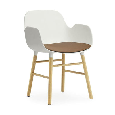 Normann Copenhagen Form Chair seat cushion, leather