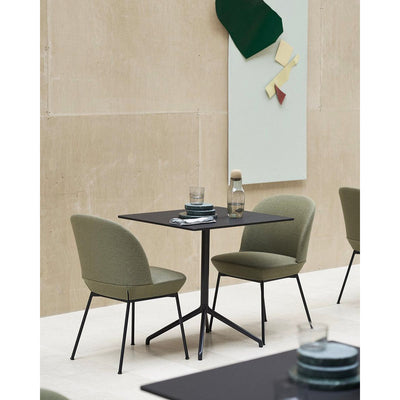 Muuto Oslo Side Chair , Ocean 601/Black