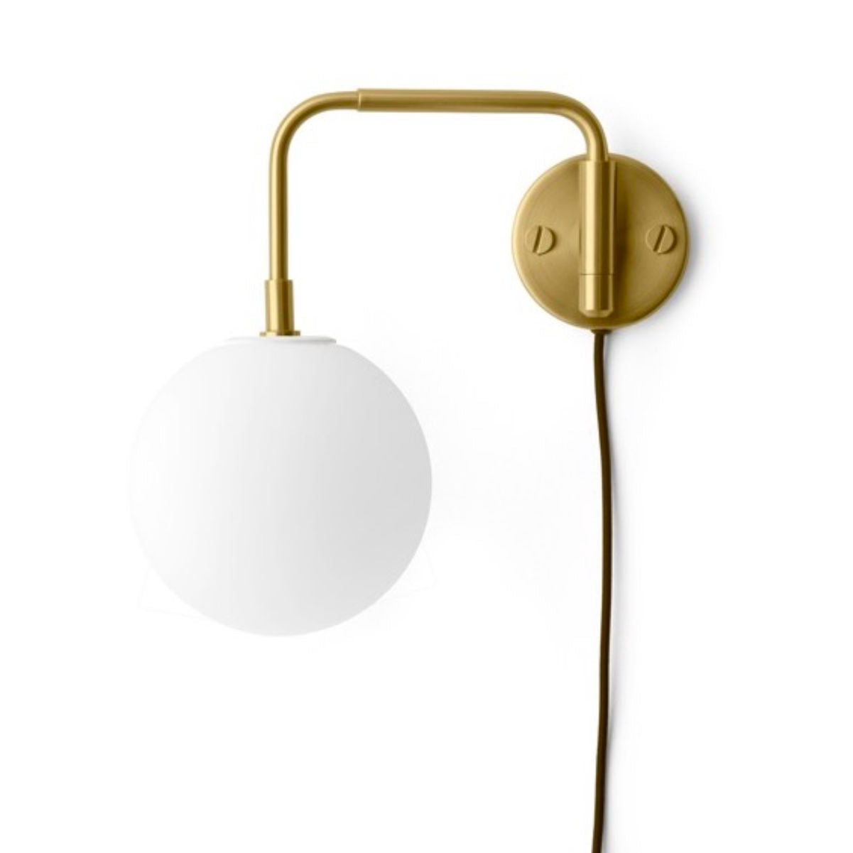 Menu Tribeca Staple wall lamp, with TR bulb, brass