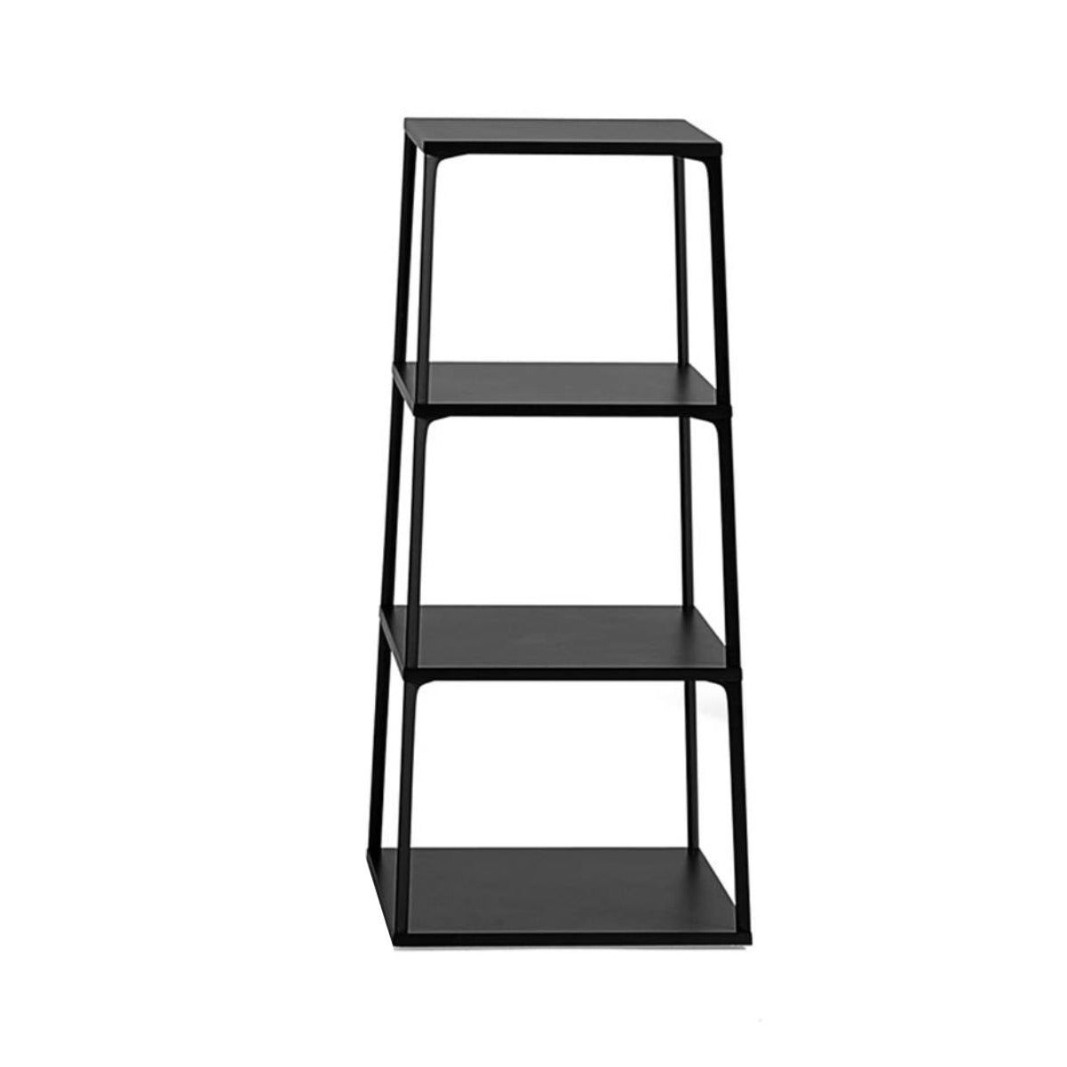 Hay Eiffel shelf square, 4 layers, black