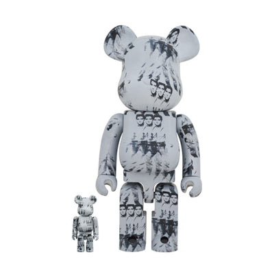 BE@RBRICK Andy Warhol's ELVIS PRESLEY 100% & 400% (To be shipped in late March 2021)