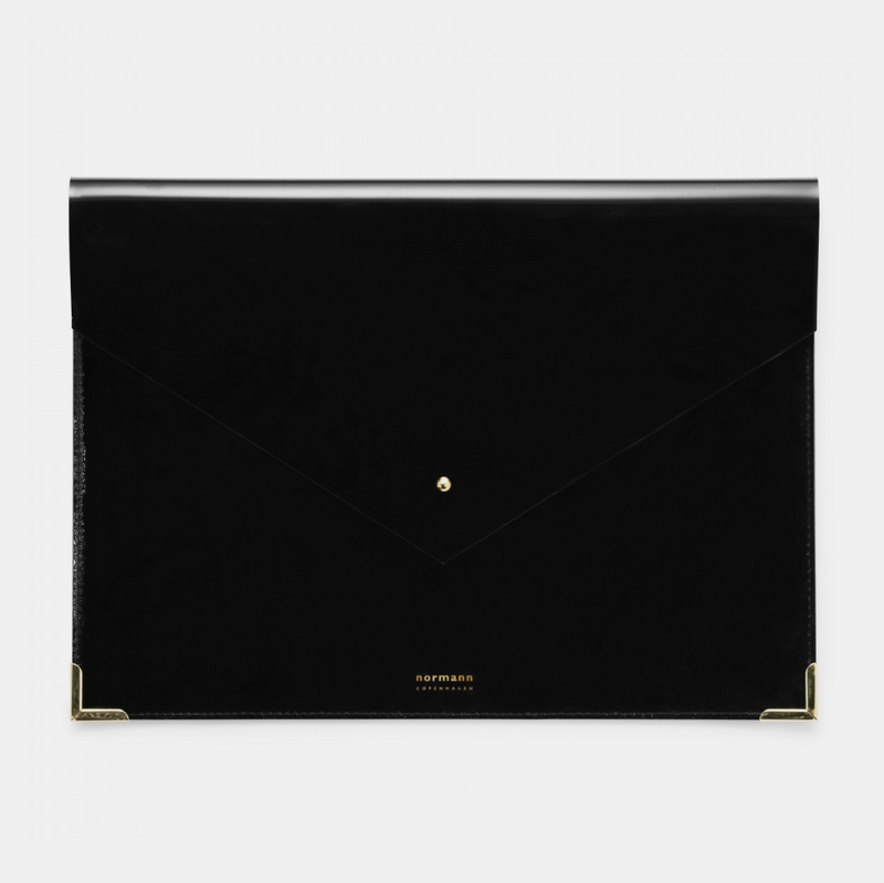 Normann Copenhagen Daily Fiction Envelope Folder, large, black