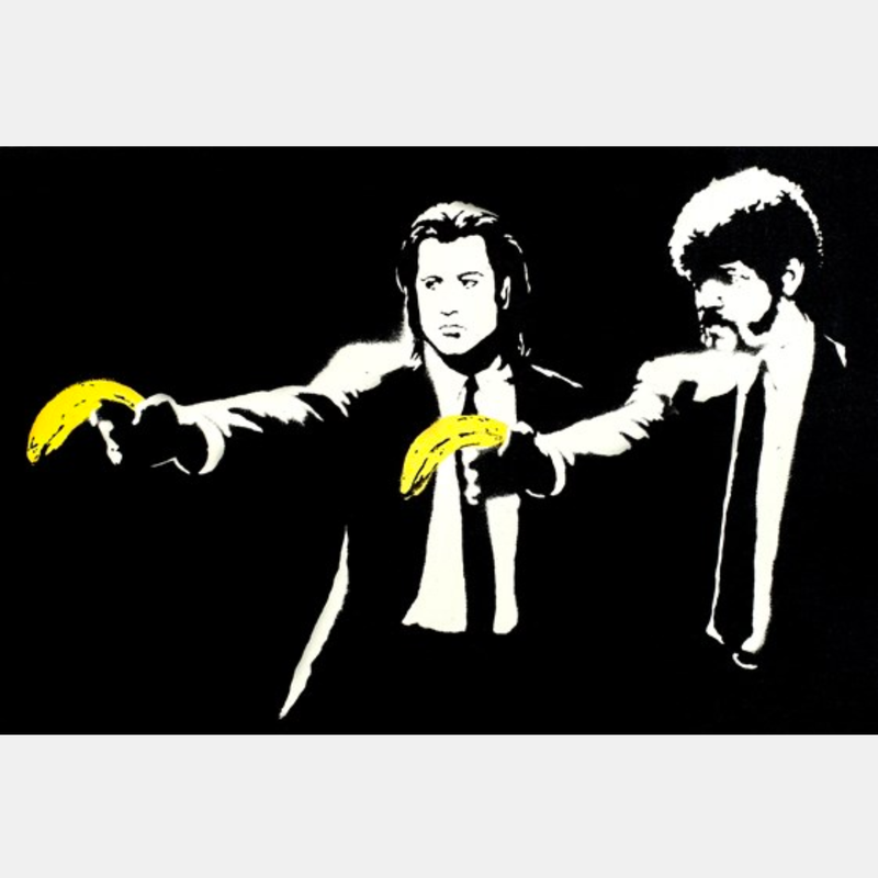 IXXI Banksy Pulp Fiction