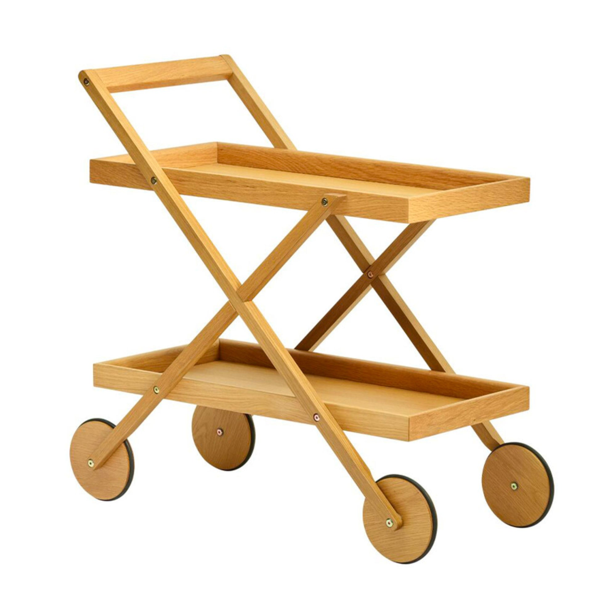 Design House Stockholm Exit Trolley , Oak