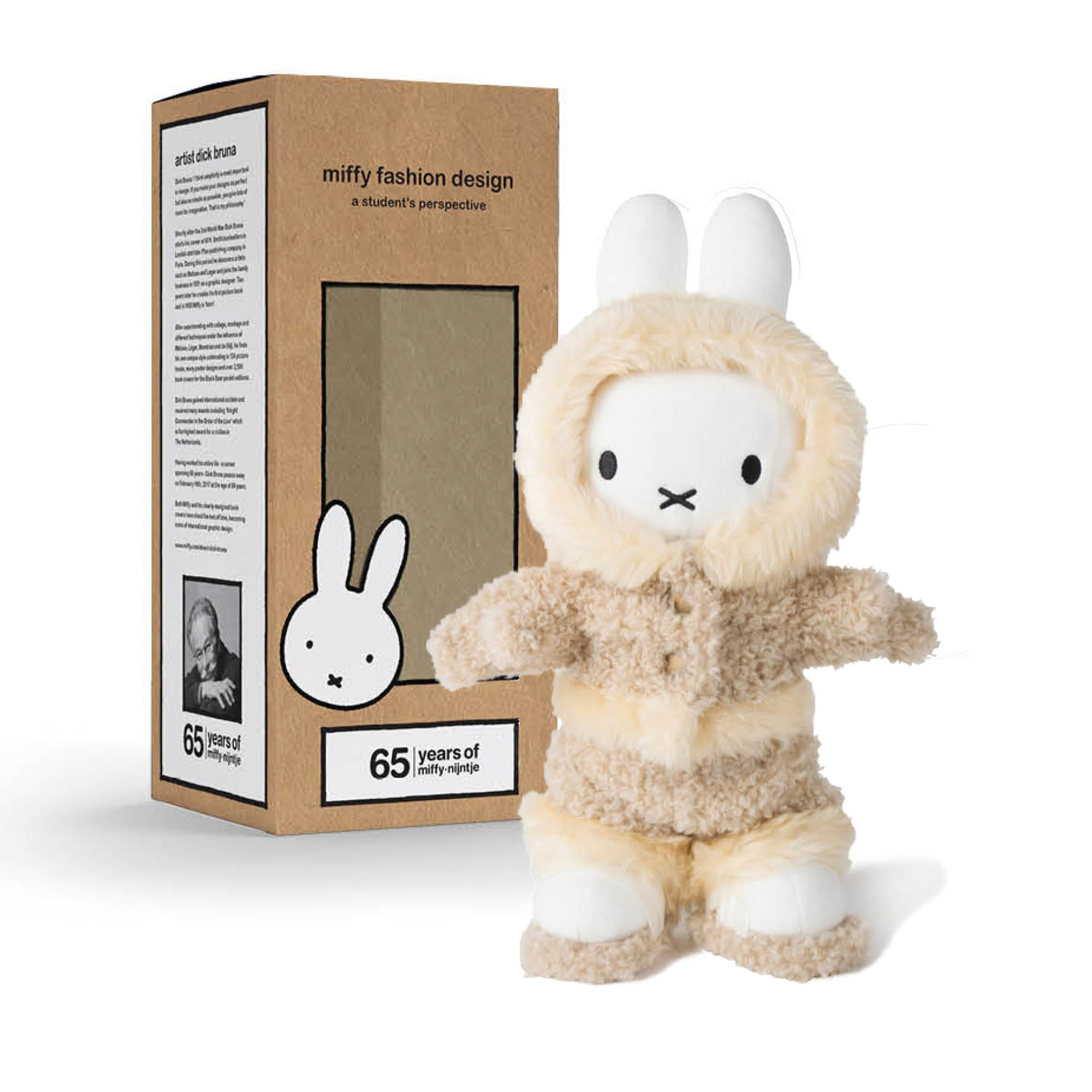 65 Years Limited Edition | Miffy Fashion Design plush doll 34cm , Explorer