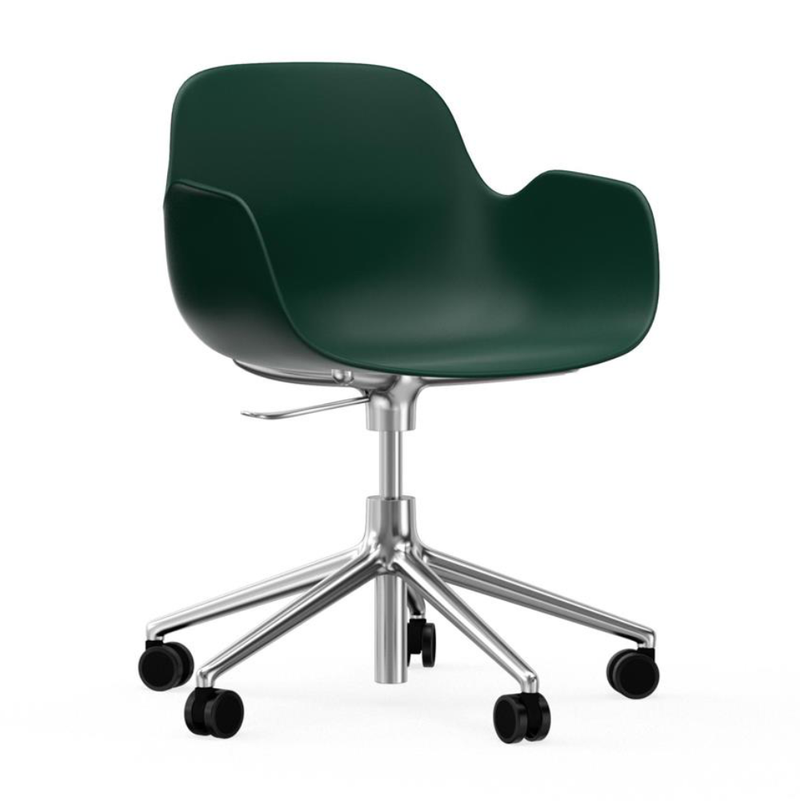 Normann Copenhagen Form armchair, swivel on wheels