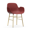 Normann Copenhagen Form armchair, brass