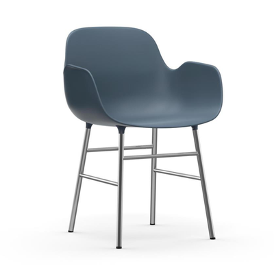 Normann Copenhagen Form armchair. chrome