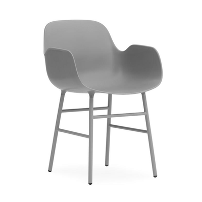 Normann Copenhagen Form armchair, steel