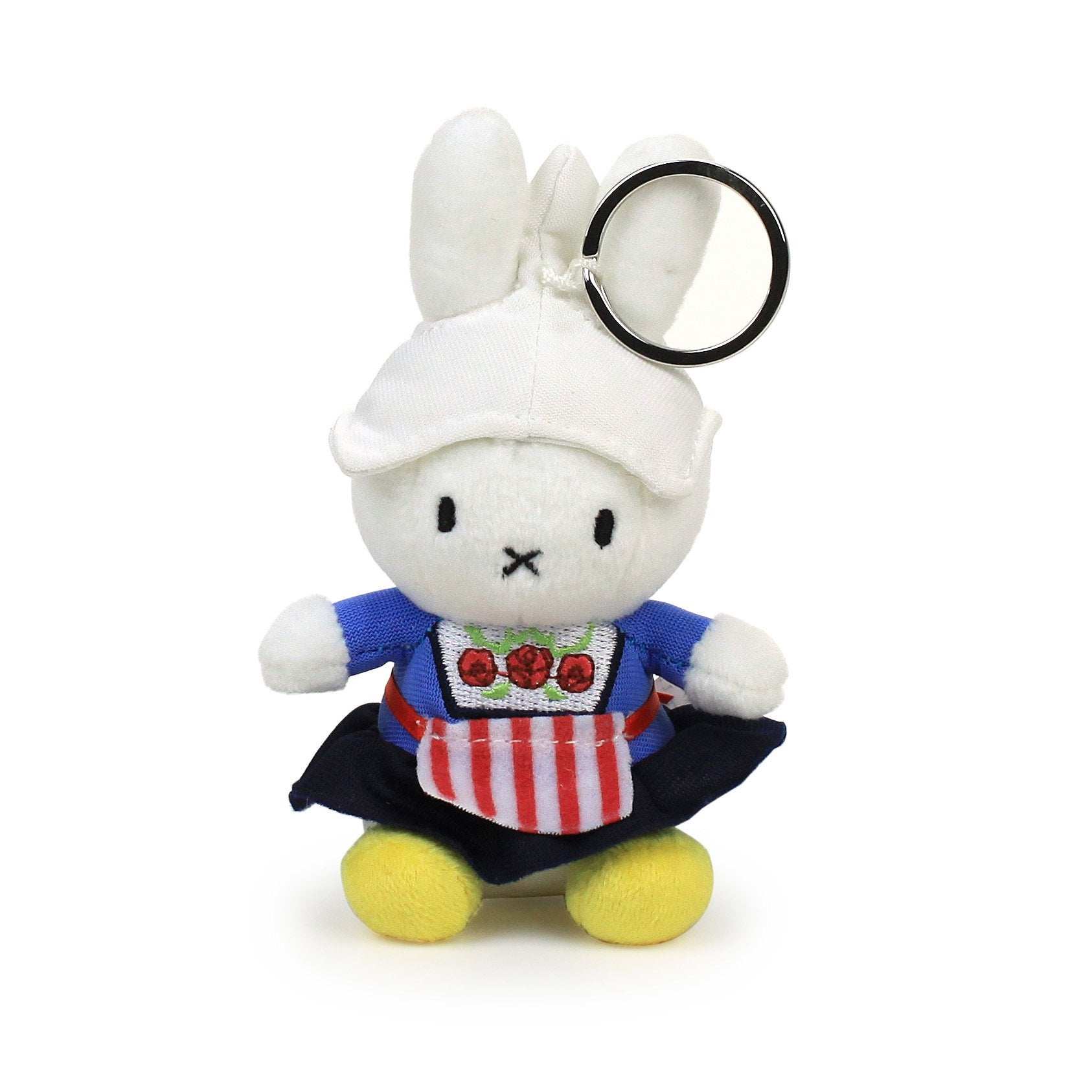 Miffy Corduroy Keychain, Farmers Wife