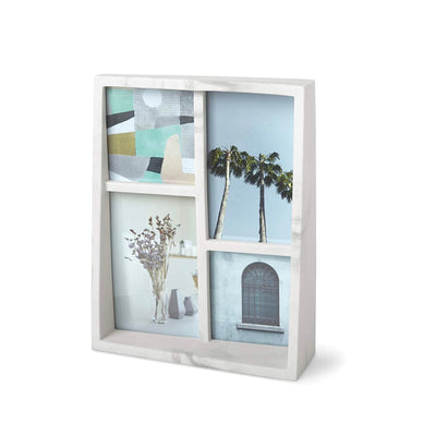 Umbra Edge multi frame, marble