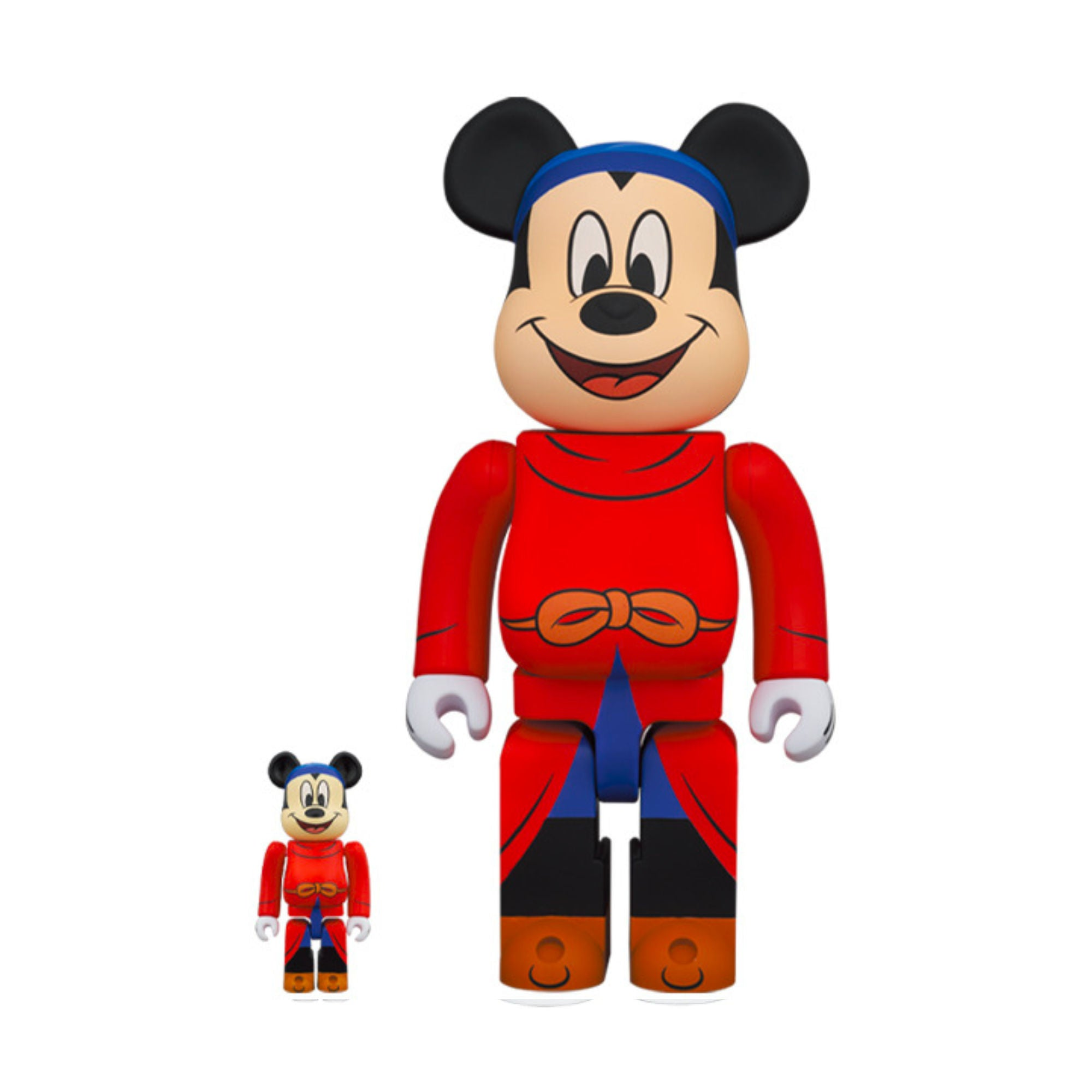 BE@RBRICK Fantasia Mickey 100% & 400%