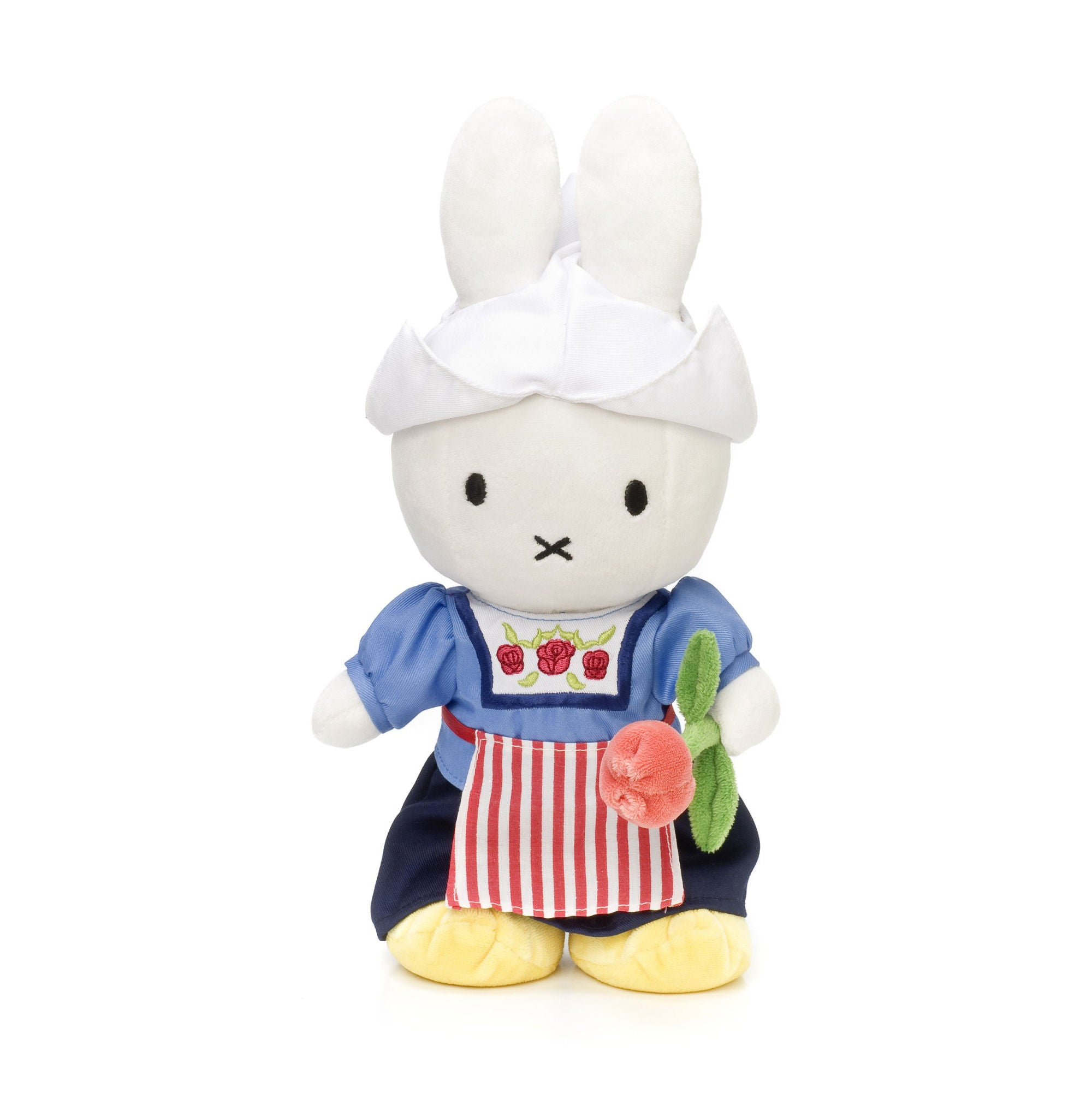 Miffy Soft Toy 24cm , farmer's wife with tulip dress