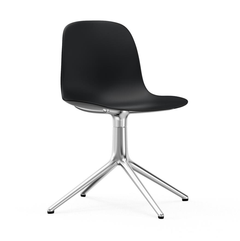 Normann Copenhagen Form Chair Swivel Aluminium Base