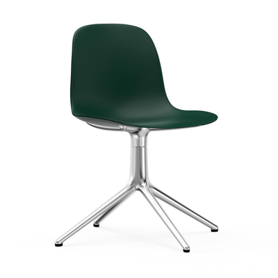 Normann Copenhagen Form chair, swivel, aluminium