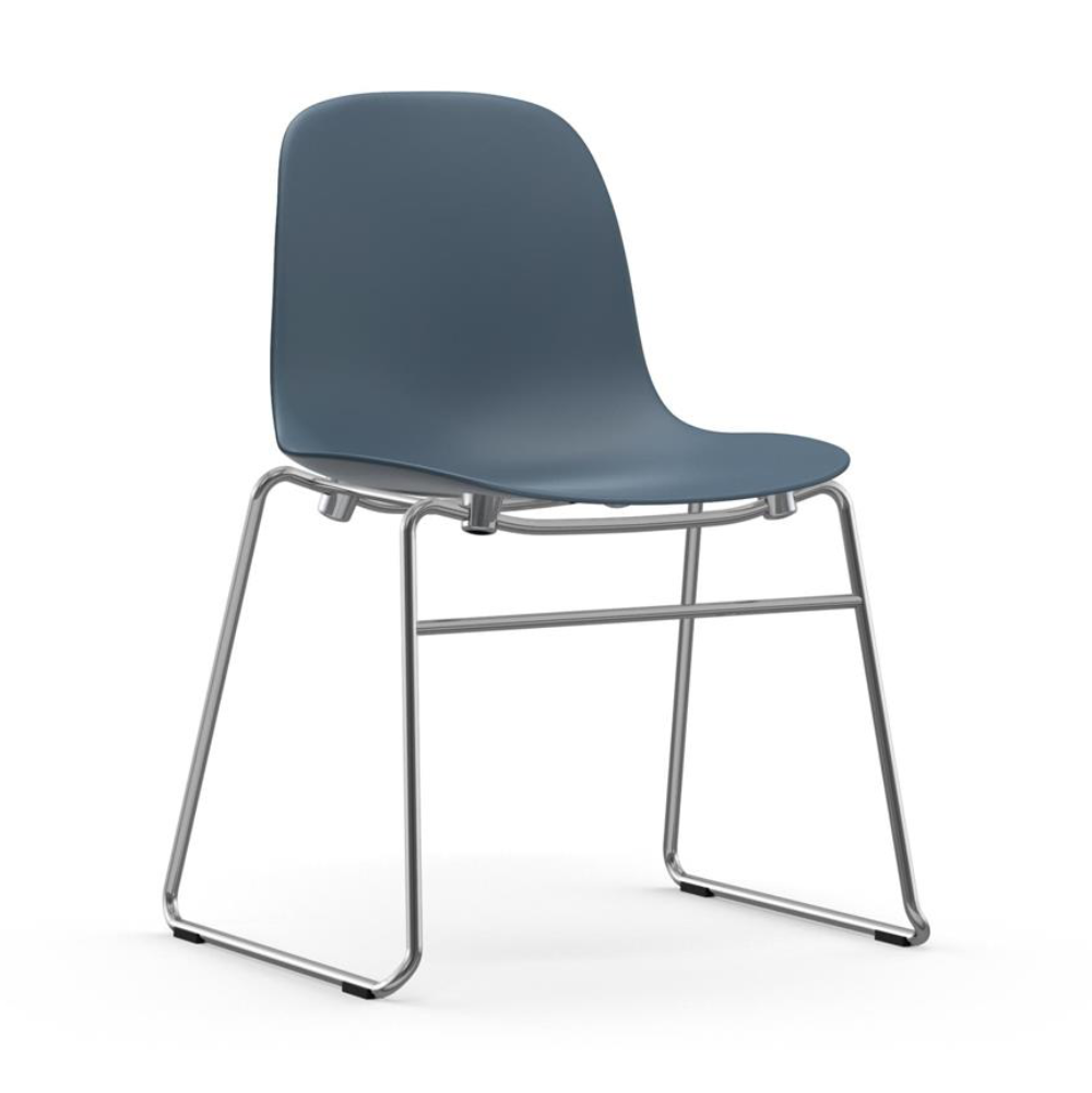 Normann Copenhagen Form Chair Stacking Chrome Legs