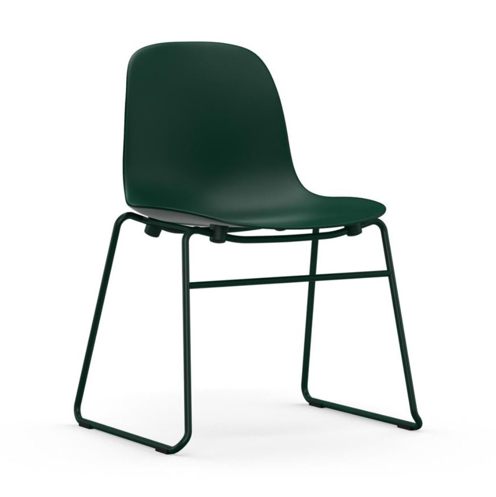 Normann Copenhagen Form Chair Stacking Steel Legs