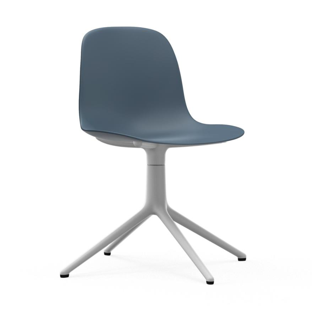 Normann Copenhagen Form Chair Swivel White Aluminium Base
