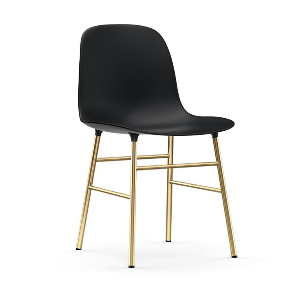 Normann Copenhagen Form Chair Brass Leg