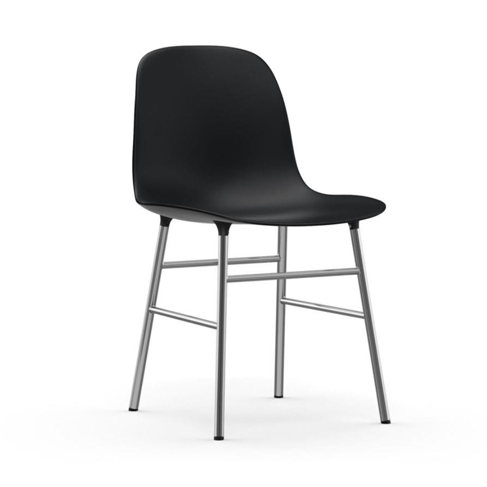 Normann Copenhagen Form Chair Chrome Leg