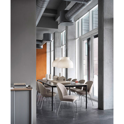 Muuto Oslo side chair, chrome