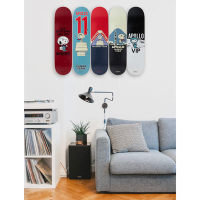 The Skateroom skateboard, Peanuts By Charles M. Schulz Apollo Recovery