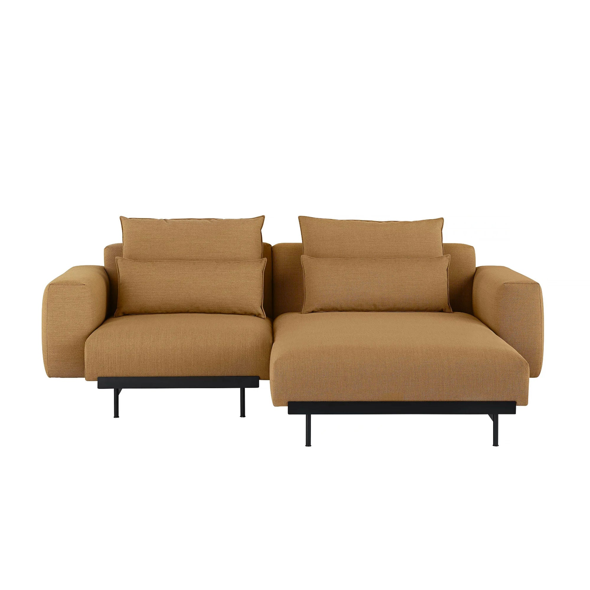 Muuto In Situ Modular Sofa 2-Seater Configuration 4/5 , Fiord 451