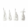 Kikkerland Fisherman Tea Bag Hanger . Set of 4