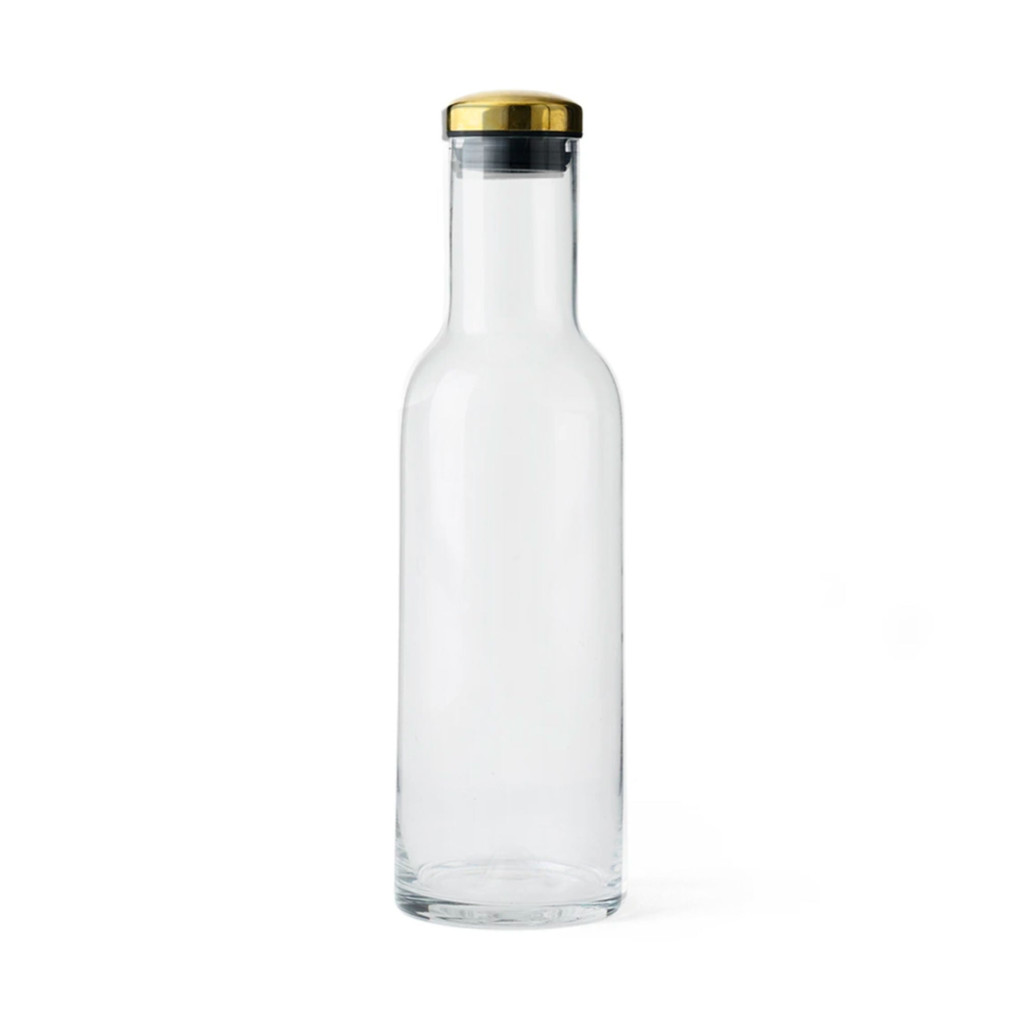 Menu Bottle Carafe 1L , Clear/Brass