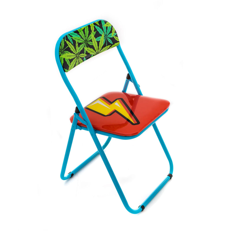Seletti Studio Job Blow Folding Chair , Flash