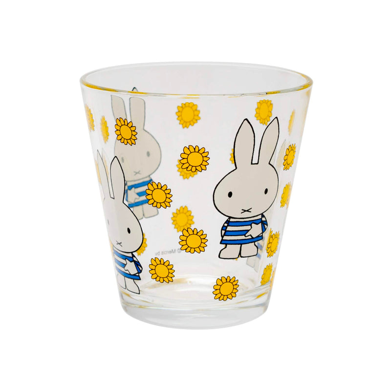 Dick Bruna x Space Joy Miffy Drinking Glass 250ml , Sunflower