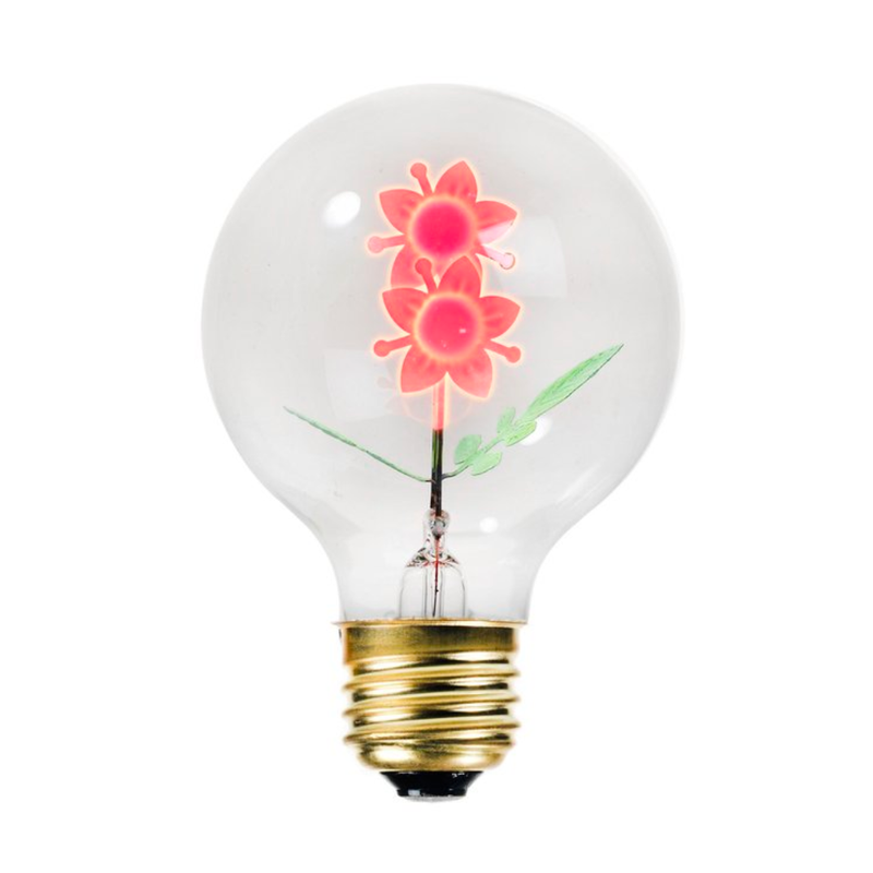 Bitten design The Flower Light Bulb