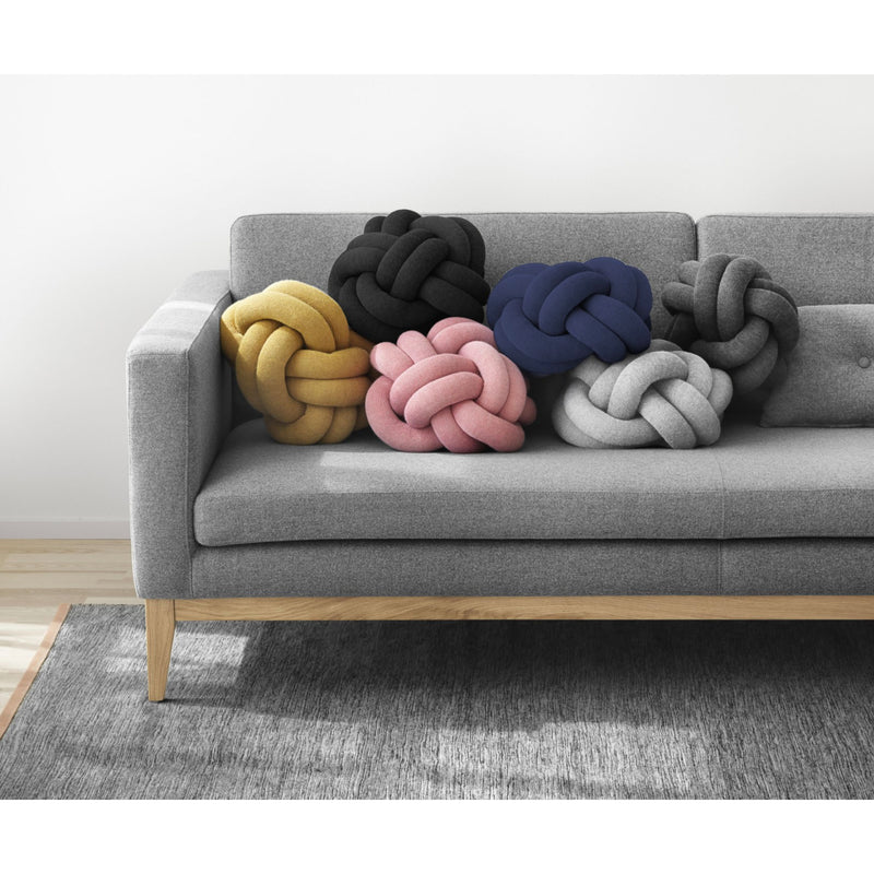 Design House Stockholm Knot cushion, petrol